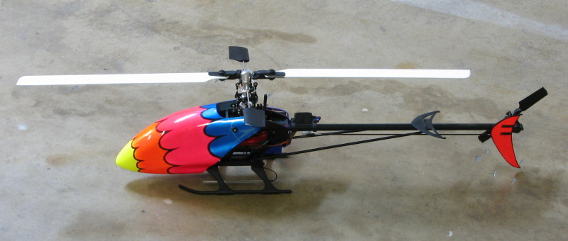 Cypher helicopter side view